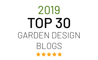 Top 30 garden design blog award in UK
